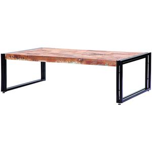 D bodhi ferum industrial coffee table l for Table extensible 3m groupon
