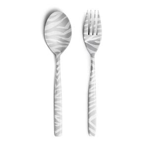 Perrocaliente Party DRESS - Shimauma Spoon & Fork Pair Set [カトラリー]